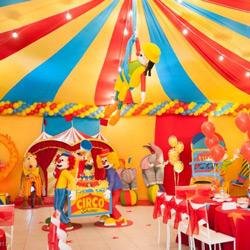 Fiesta de Circo Collage de ideas
