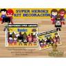 Super Heroes  -  Kit Decoracion Fiesta Imprimible