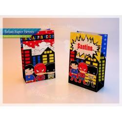 Super Heroes (nene) - Bolsa Sorpresita