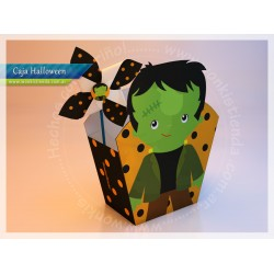 Halloween Franky - Caja Golosinas Maceta