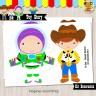 Toy Story -  Kit Decoracion Fiesta Imprimible