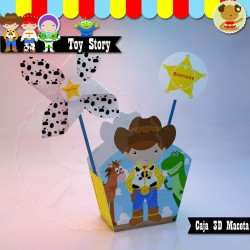 Toy Story - Caja Golosinas Maceta Buddy