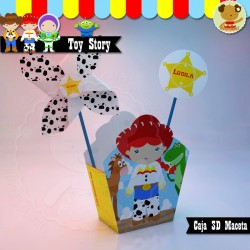 Toy Story - Caja Golosinas Maceta Jessie