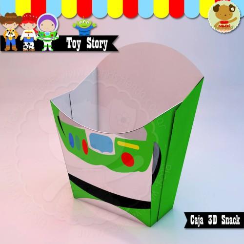 Buzz - Toy Story Caja Snack