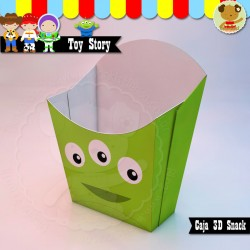 Marcianito - Toy Story Caja Snack