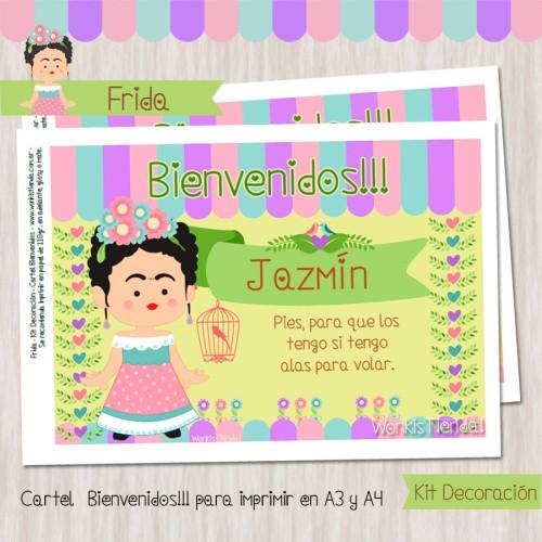 Frida - Kit Decoración Fiesta Imprimible