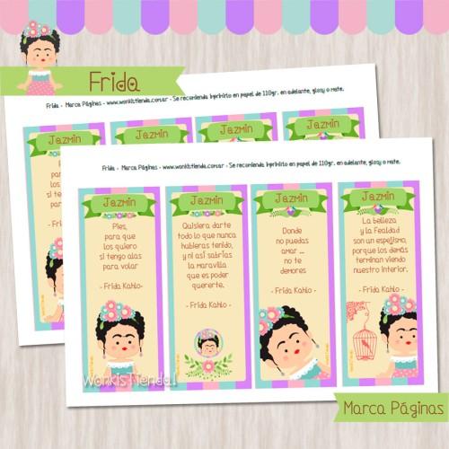 Frida - Marcapáginas
