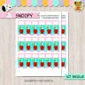 Snoopy - Kit Escolar