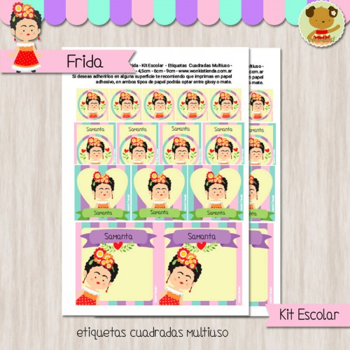 Frida - Kit Escolar