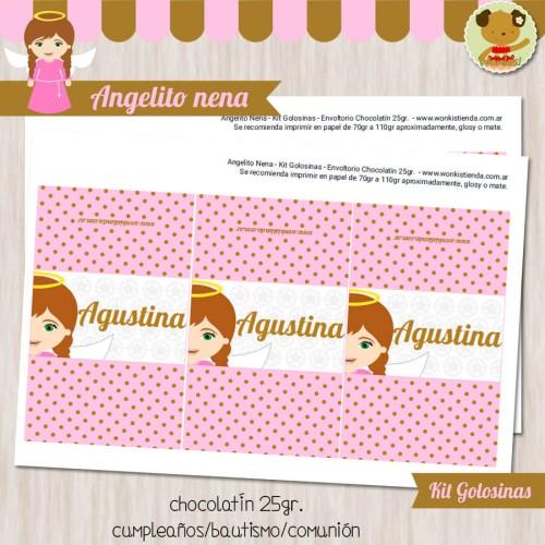 Angelito nena - Kit Candy Bar (Golosinas)