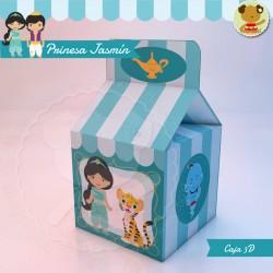 Princesa Jasmín - Caja Golosinas  Milk
