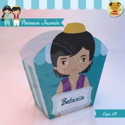 Aladdin - Caja 3D  Golosinas Maceta