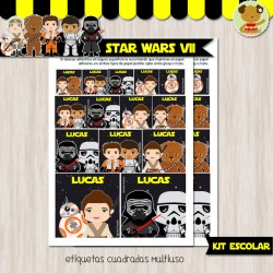 Star Wars VII - Kit Escolar