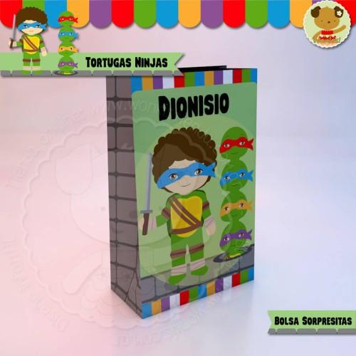 Tortugas Ninjas - Bolsa Sorpresita