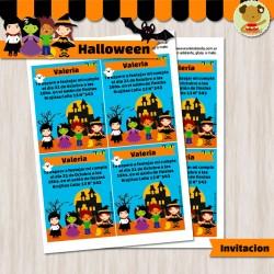 Halloween - Invitación Textos Editables