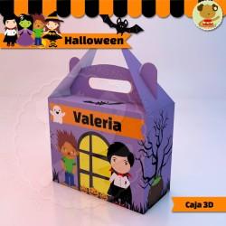 "Halloween - Caja Golosinas  ""Feliz"""