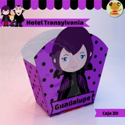 Hotel Transylvania Mavis - Caja 3D  Golosinas Maceta