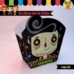 El Libro de la Vida Manolo  - Caja 3D  Golosinas Maceta
