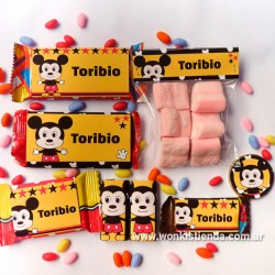 Mickey  - Kit Candy Bar (Golosinas)