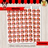 Minnie - Kit Candy Bar Rojo (Golosinas)