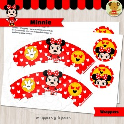 Minnie - Wrappers y Toppers