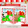 Animales de Granja - Kit Decoración Fiesta Imprimible