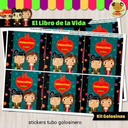El Libro de la Vida - Kit Candy Bar (Golosinas)