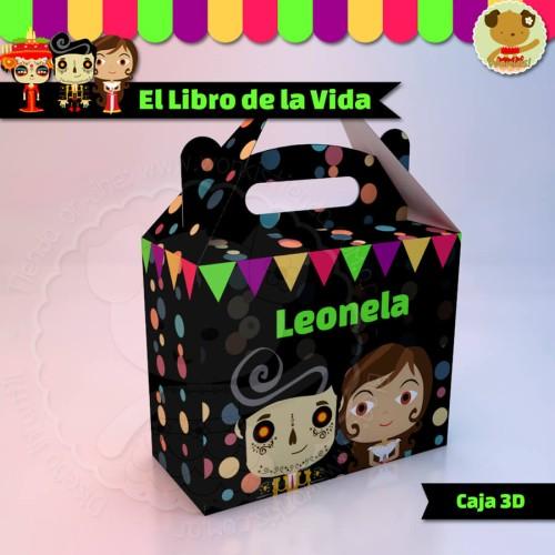 """El Libro de la Vida - Caja Golosinas  """"Feliz"""""""