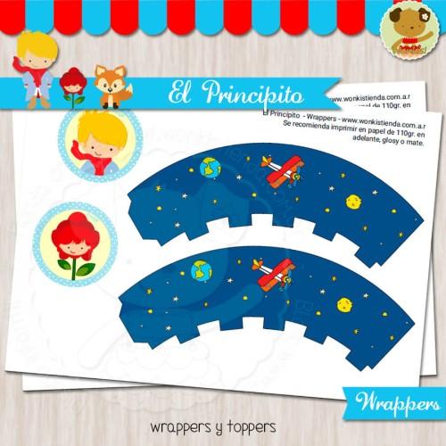 El Principito rubio - Wrappers y Toppers