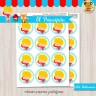 El Principito rubio - Kit Candy Bar (Golosinas)