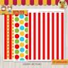 Circo -  Kit Decoracion Fiesta Imprimible