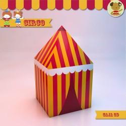 Circo - Caja Golosinas