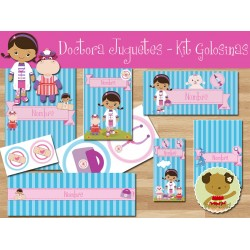 Doctora Juguetes -  Kit Candy Bar (Golosinas)